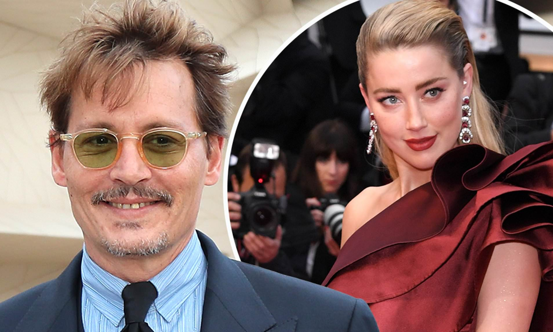 """Pirates of the Caribbean"" actor Johnny Depp and his ex-wife, Amber Heard (Picture by AFP/Getty Images)"