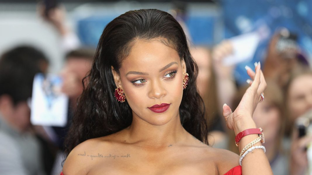 Rihanna, shown above at a London movie premiere in 2017. (Tim P. Whitby/Getty Images)