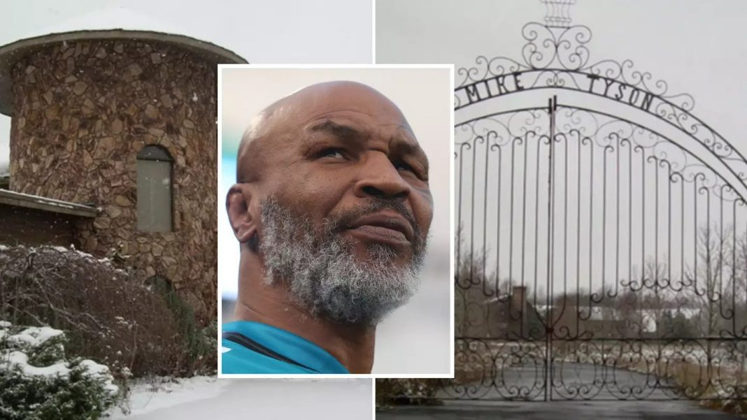 While in the midst of crippling financial problems, Mike Tyson was forced to pawn off his Ohio mansion, a £890,000 monster that has since been changed into a church. (Image Credit: www.illicitohio.com/Imgur)