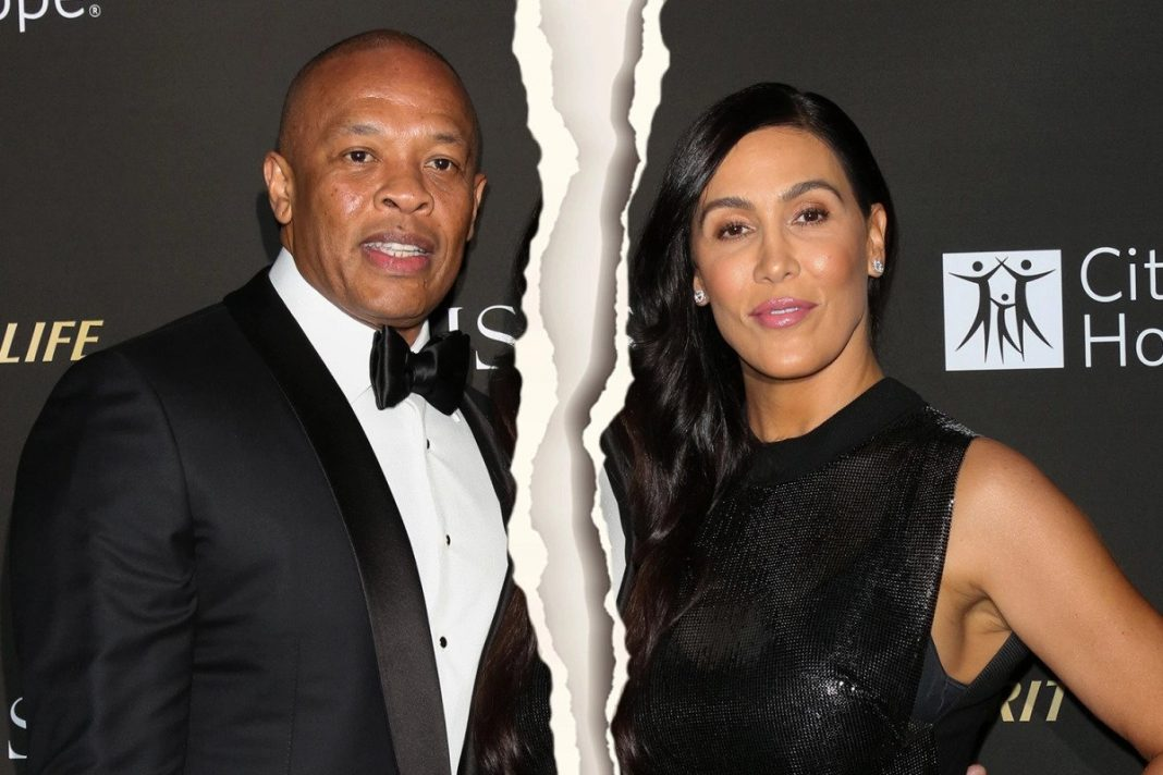 Dr Dre's wife of 24 years, Nicole Young, is seeking divorce from the Beats Electronics founder, citing irreconcilable differences as the reason for the split. (Picture by Getty Images)