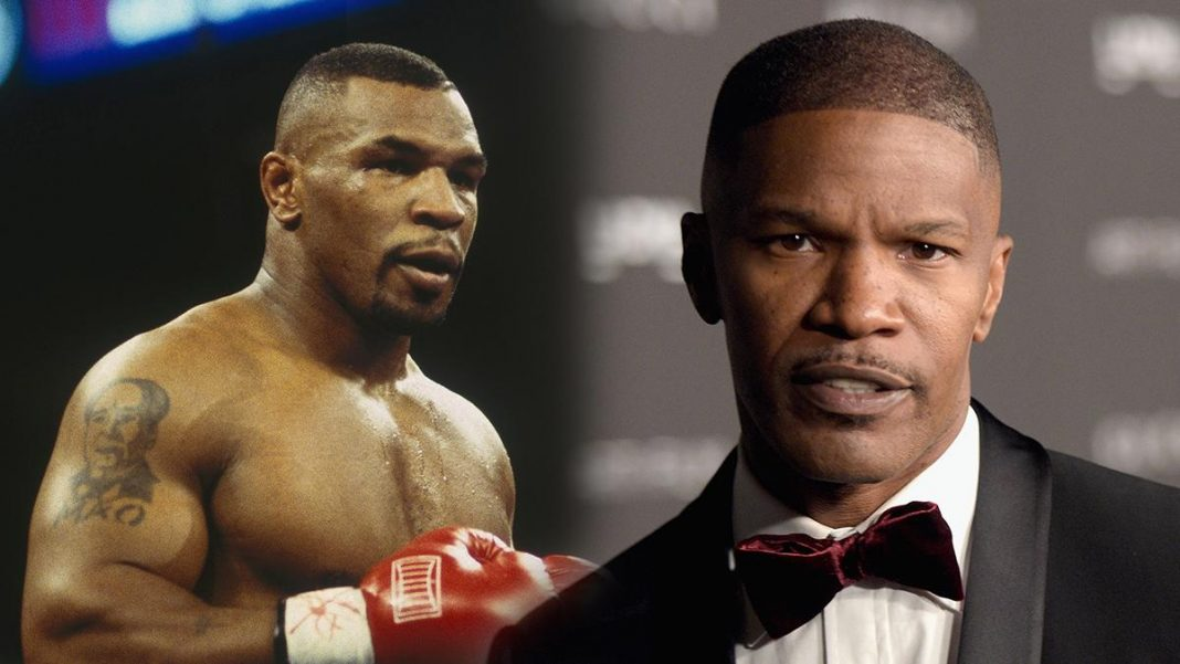 Actor Jamie Foxx is doing 60 pull-ups, 60 dips and 100 push-ups almost daily as he prepares for his role as Mike Tyson in the former heavyweight champion's upcoming biopic.