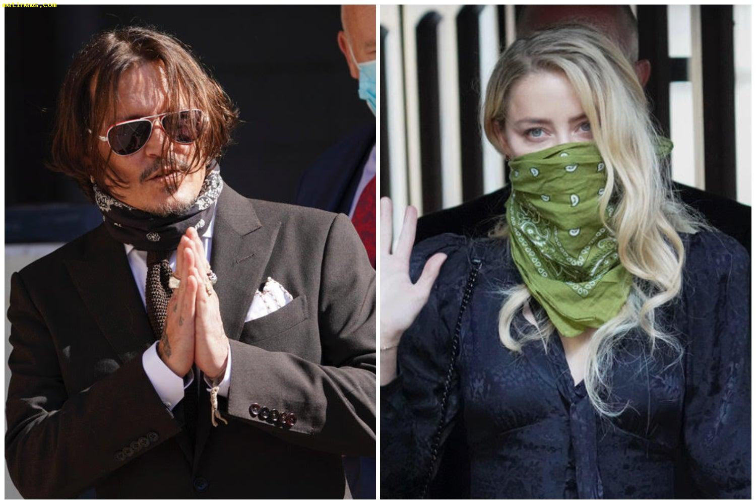 Johnny Depp 'threw a phone' at Amber Heard because she 'defecated' in their bed