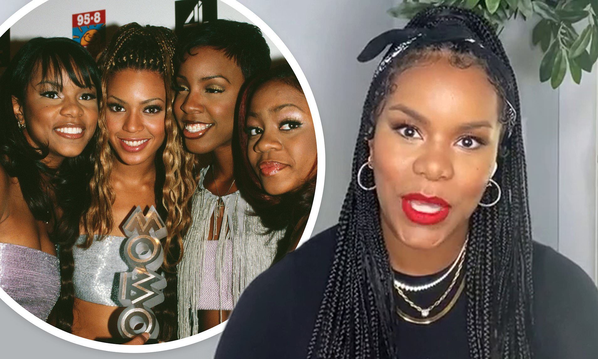LeToya Luckett recalls sleeping in cars, living on noodles after leaving Destiny's Child