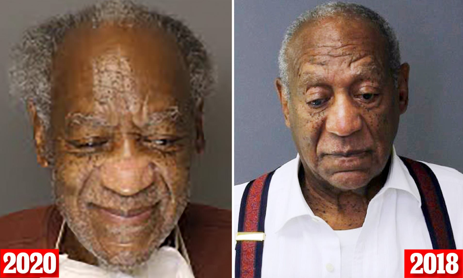 Smiling Bill Cosby causes stir with mugshot