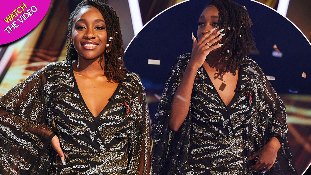18 year old Blessing Chitapa who was just crowned The Voice UK winner