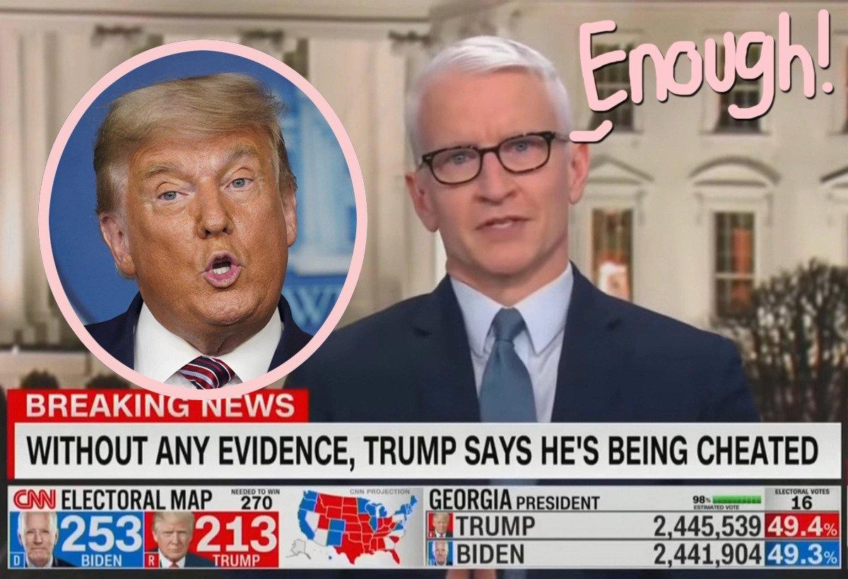 Anderson Cooper regrets 'obese turtle' remark toward President Trump