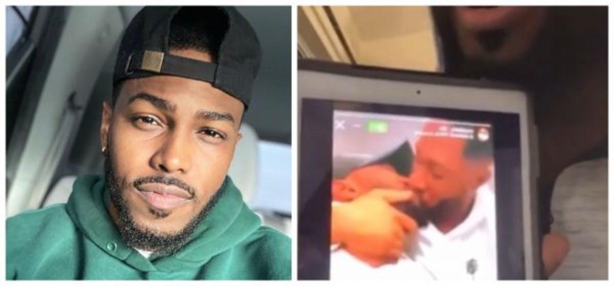 Gospel singer Darrel Walls deletes Instagram after video of him kissing a man goes viral