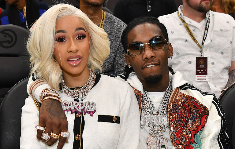 Cardi B and husband, Migos rapper Offset