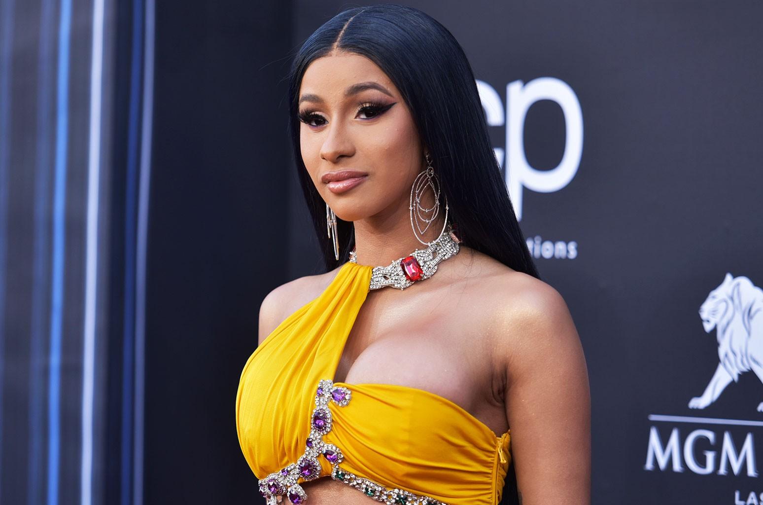 Female rap sensation and 'WAP' hitmaker Cardi B (Picture by Richard Shotwell/Invision/AP)