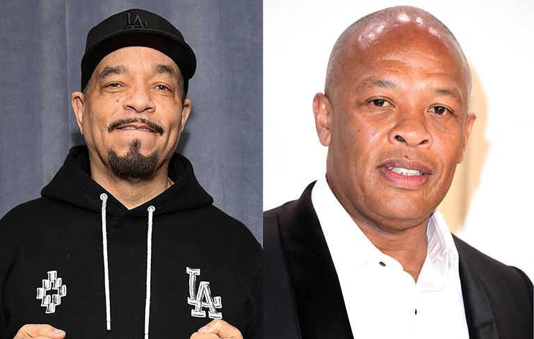 Ice-T says that his friend Dr. Dre is making progress amid his recovery from a brain aneurysm.