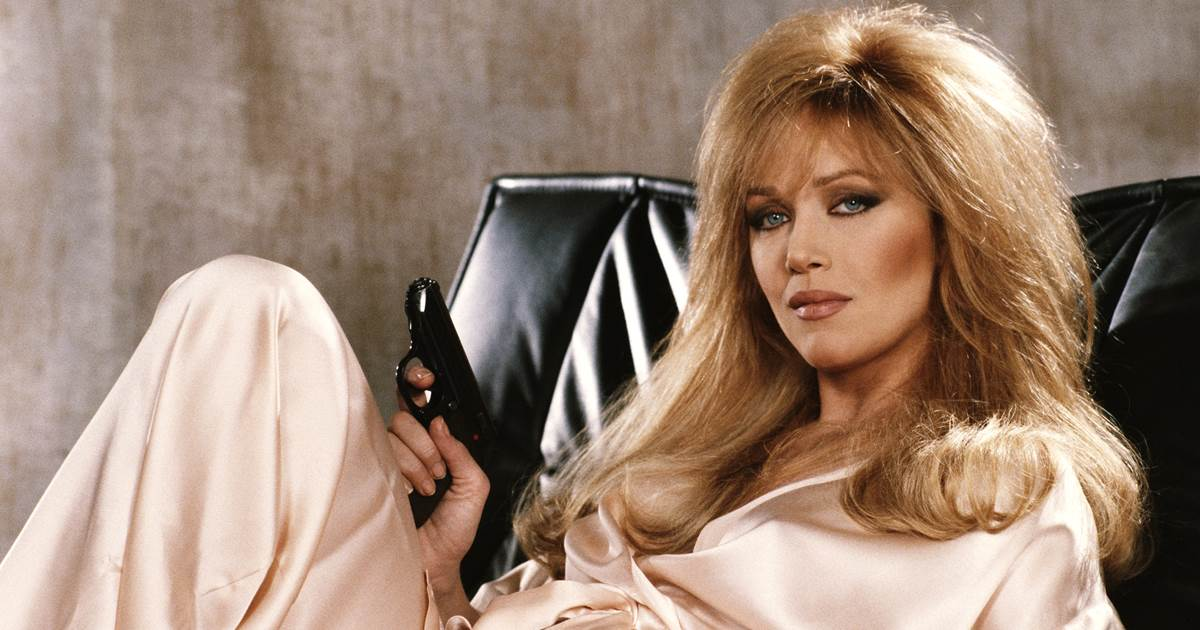 """Tanya Roberts as Stacey Sutton in the James Bond film """"A View To A Kill.""""Keith Hamshere / Getty Images file"""