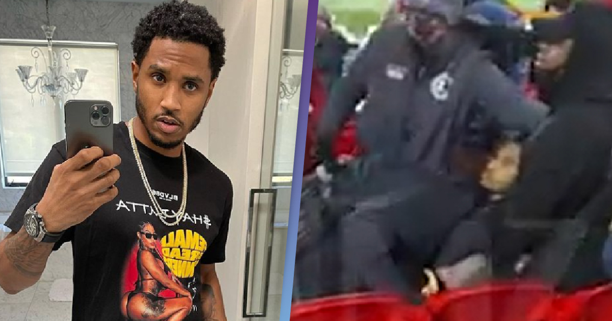 Trey Songz was arrested for trespassing, resisting arrest and assaulting a police officer during an American football game between Kansas City Chiefs and Buffalo Bills on Sunday (24 January).