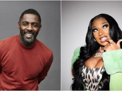 Idris Elba hints on collaboration with Megan Thee Stallion and Davido