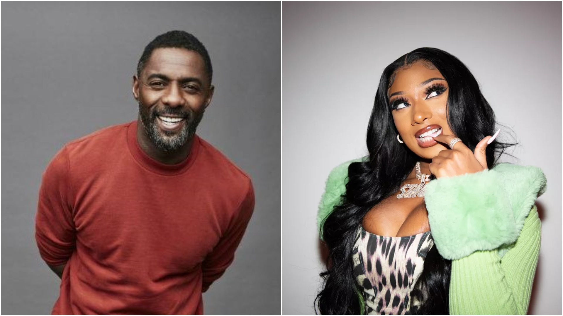 Idris Elba hints on collaboration with Megan Thee Stallion and Davido