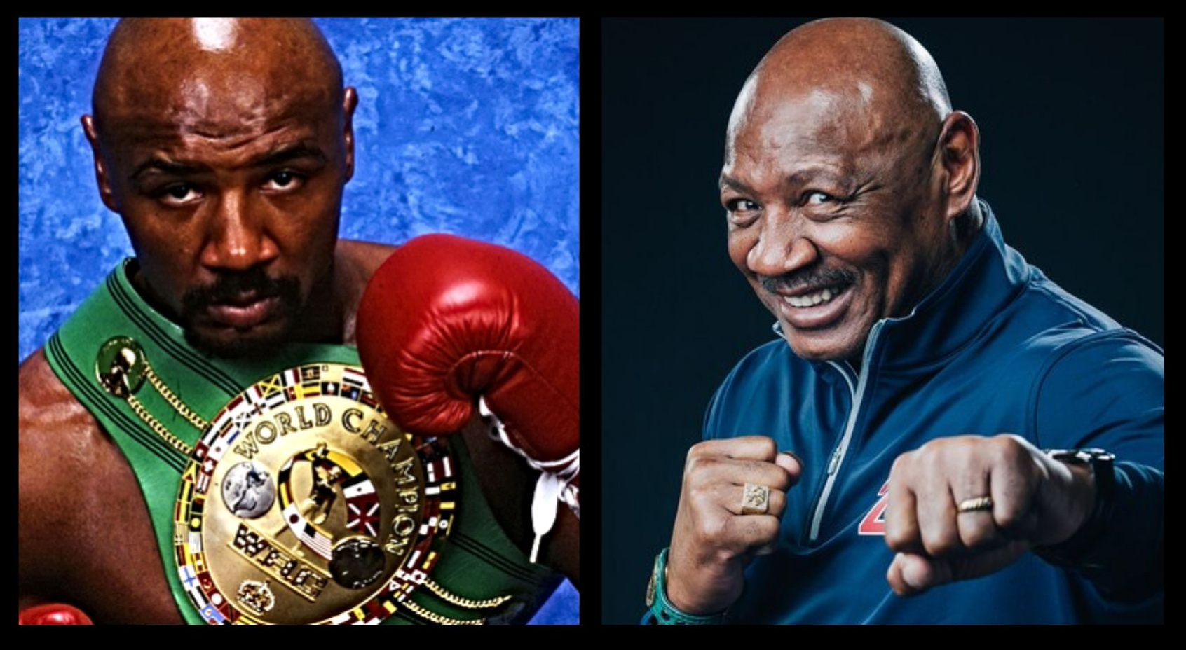 Boxing legend Marvin Hagler