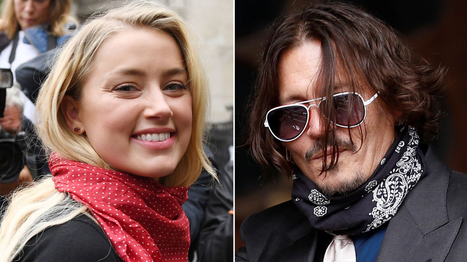 Amber Heard was married to actor Johnny Depp from 2015 to 2017