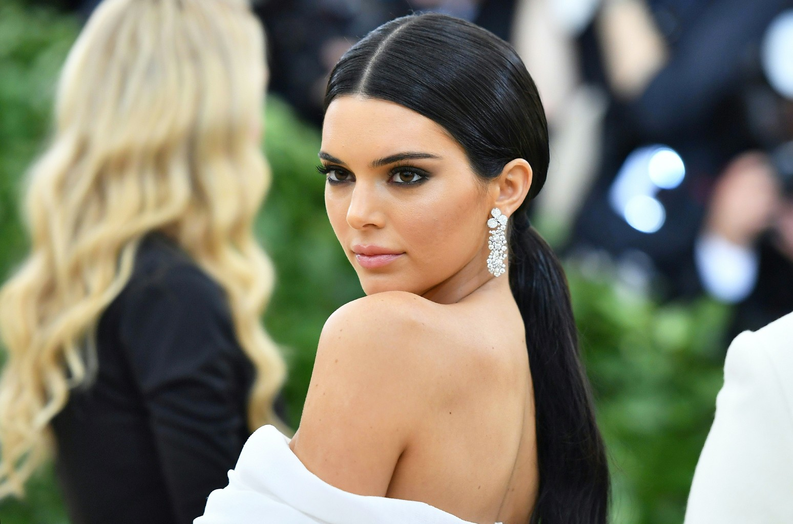 Kendall Jenner arrives for the 2018 Met Gala on May 7, 2018 at the Metropolitan Museum of Art in New York City. (ANGELA WEISS/AFP/Getty Images)