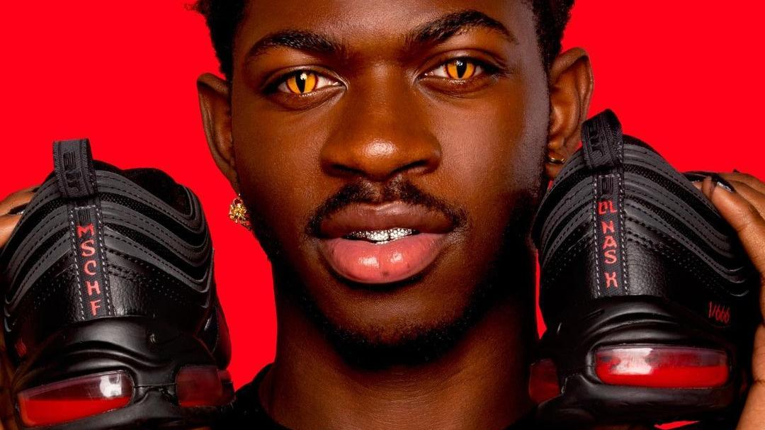 Lil Nas X got 666 pairs of altered Nike Air 97 sneakers made