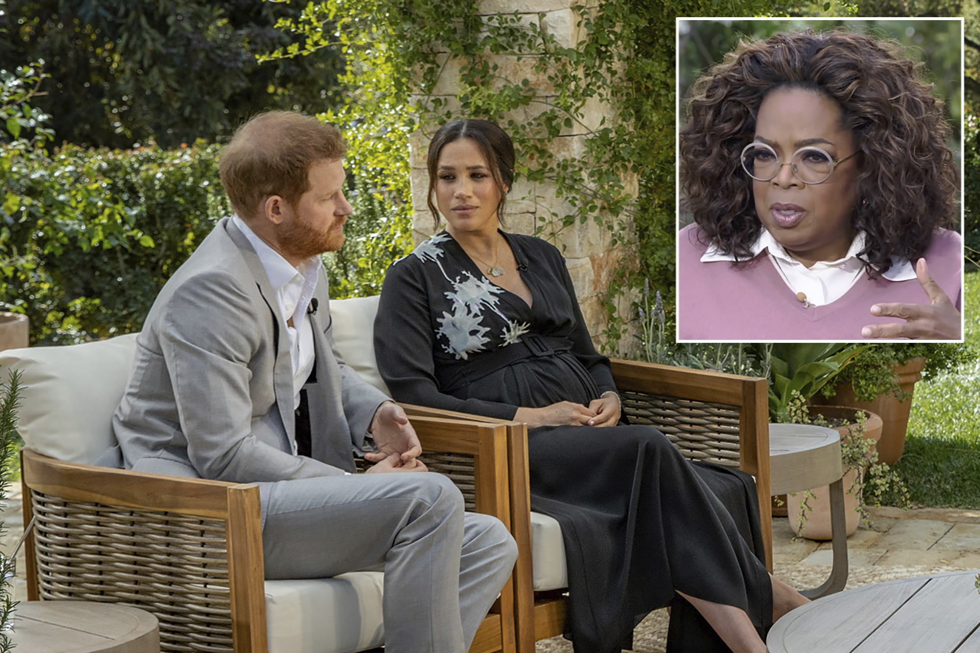 Meghan drops race bombshell in Oprah TV interview... discusses feeling suicidal