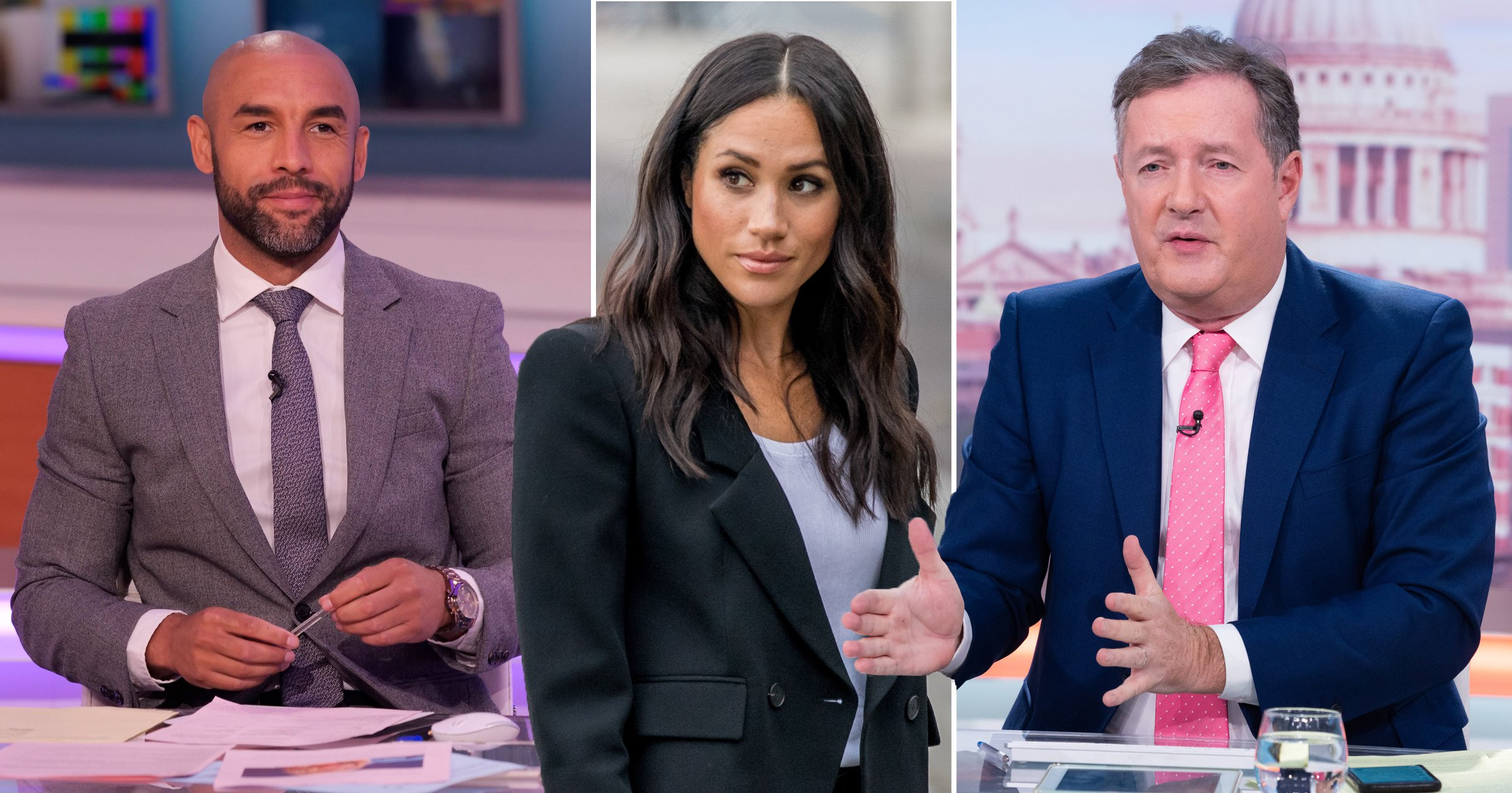 Piers Morgan clashed with GMB co-star Alex Beresford on the show on Tuesday, after his response to Meghan and husband Prince Harry's interview with Oprah Winfrey which aired on Monday night.