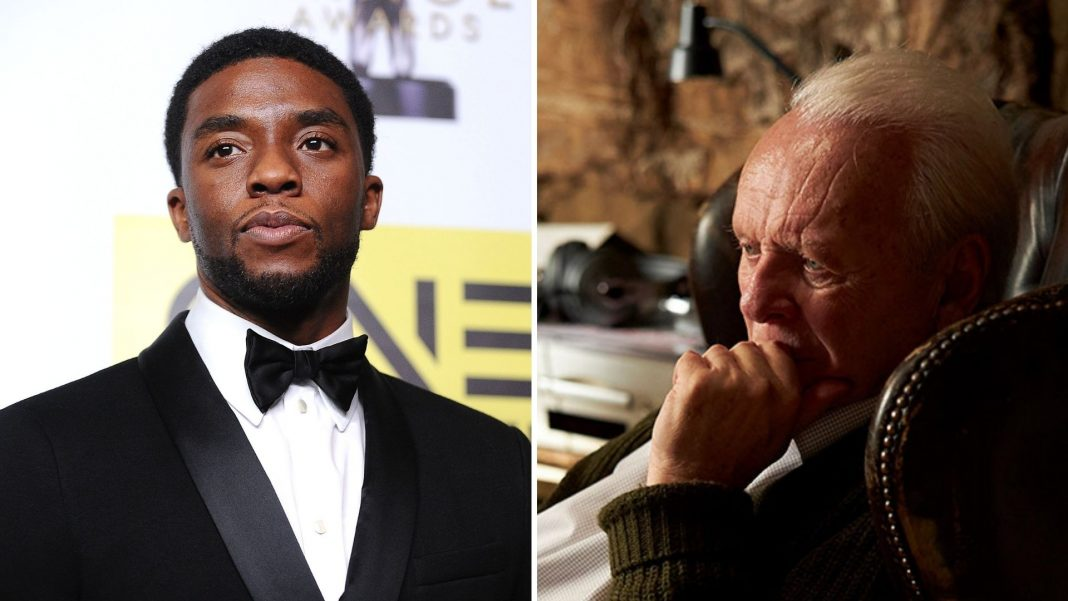 Chadwick Boseman fans slam Oscars after he loses out to Anthony Hopkins