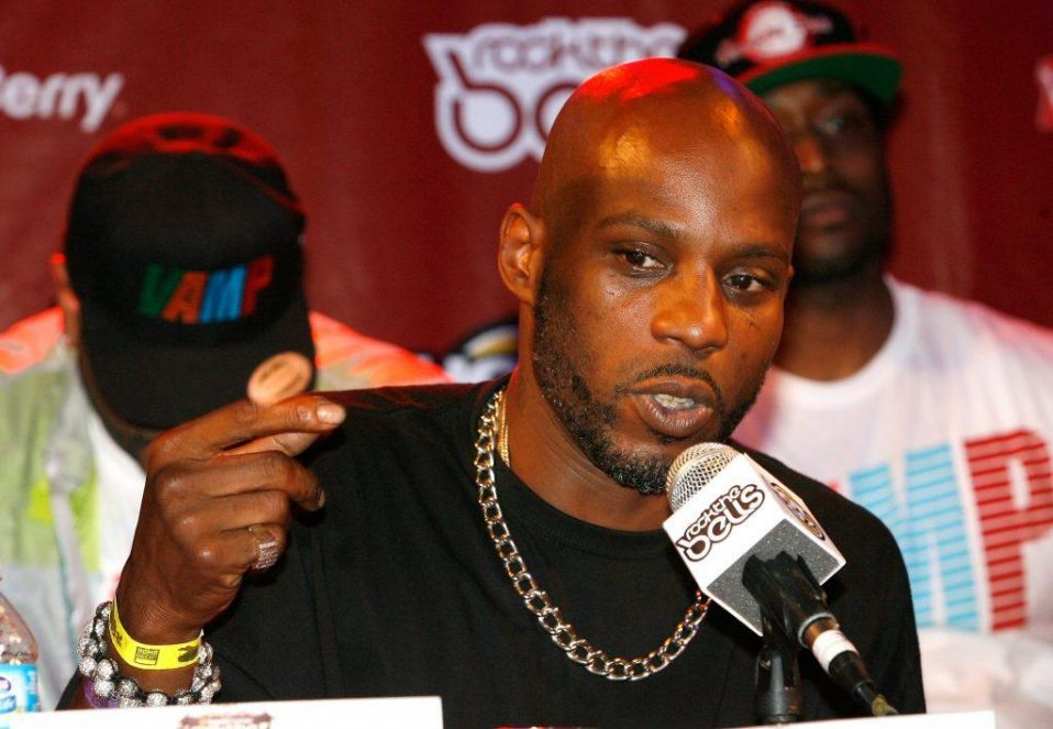 DMX speaks during the 2012 Rock the Bells Festival press conference and Fan Appreciation Party on at Santos Party House on June 13, 2012 in New York City. (Photo by Mike Lawrie/Getty Images)