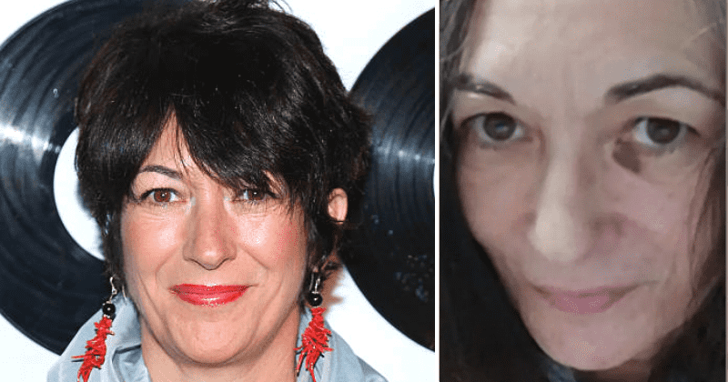 Ghislaine Maxwell: lawyers release photo showing bruised face in prison
