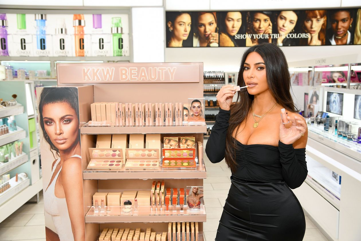 Coty said Kim Kardashian West will continue to lead KKW's creative efforts in product and communications. PHOTO: DIMITRIOS KAMBOURIS/GETTY IMAGES