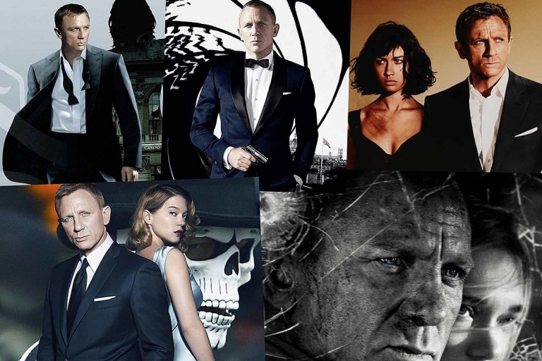 Daniel Craig became the new James Bond in 2006, portraying the iconic British secret agent in five movies over the next 15 years.