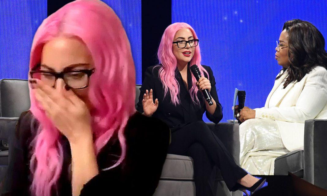 Lady Gaga on Oprah Winfrey