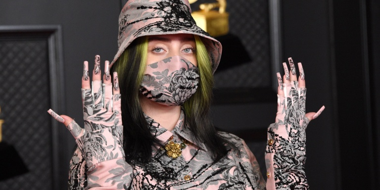 Billie Eilish, March 2021 (Kevin Mazur/Getty Images for The Recording Academy)