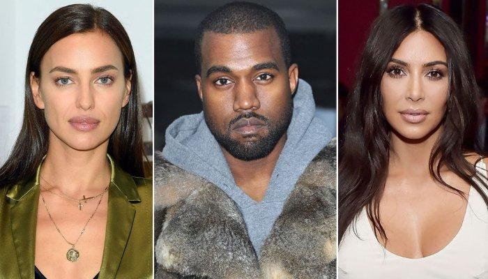 How does Kim Kardashian feels about ex-husband Kanye West dating Irina Shayk?