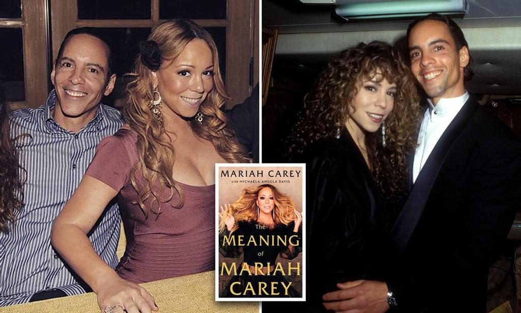 Mariah Carey and Morgan Carey
