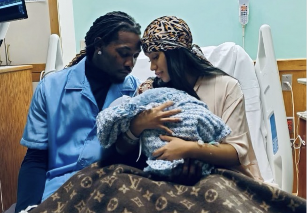 Cardi B and Offset announce birth of second child with beautiful family photo